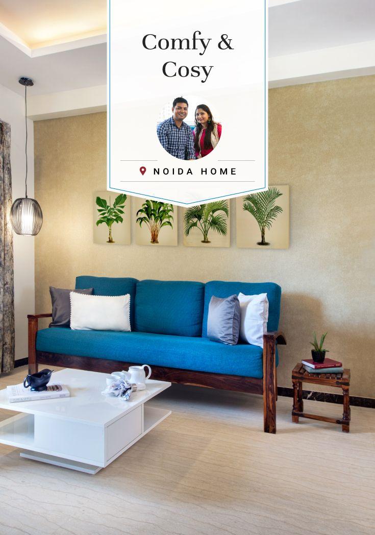 Noida Flat Gets Budget Friendly Interiors Living Room Design Small Spaces Home Decor Hacks Living Room Designs