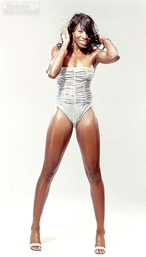 Venus Williams - Sports Illustrated Swimsuit 2005 Photographed by: Paul Lange Collection: athlete