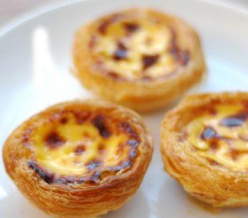 Tartaletas de crema: Pasteles de Belém