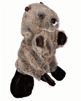 Beaver Golf Headcover: A mischievous Beaver Golf Headcover may be the perfect item to keep your golf game… #Golf #GolfClubs #GolfEquipment