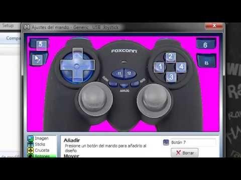 Como conectar cualquier joystick a tu pc y con todo los juegos - YouTube