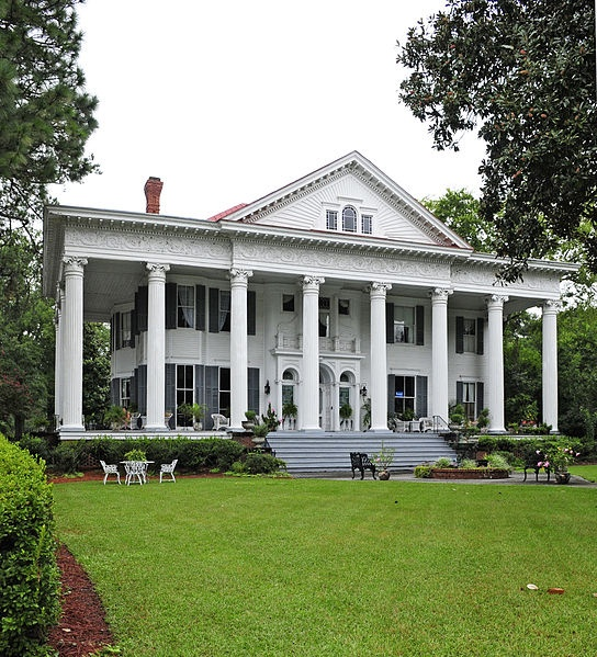 rosemary hall this greek revival home was completed in