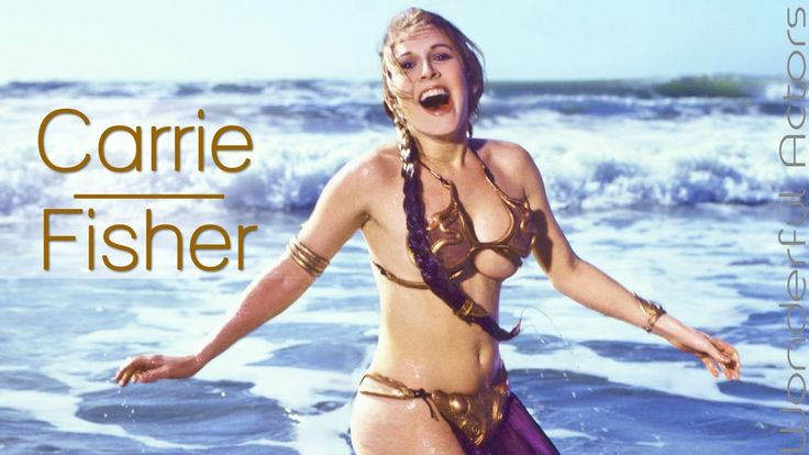 Carrie Fisher Time-Lapse Filmography - Through the years...