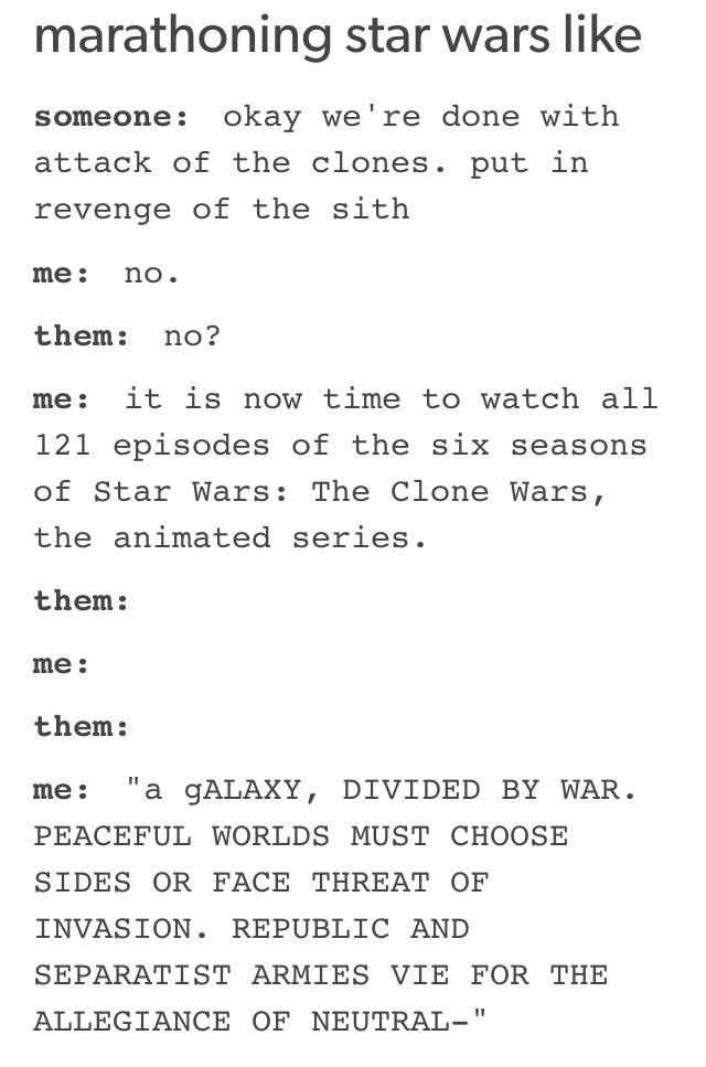 Okay, I'm a HUGE Star Wars fan, but even I am not that hard core! Lol