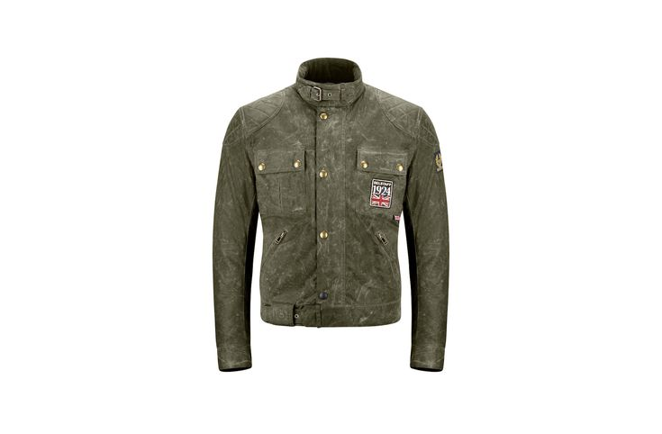 The Belstaff Jubilee Brooklands Jacket was designed as a modern tribute to the iconic motorcycle jackets Belstaff have been producing in England since 1924. Brooklands was of course the world's first purpose-built motor racing circuit, and the location of many major car and motorcycle races in the years before WWII. Each Jubilee Brooklands Jacket is...