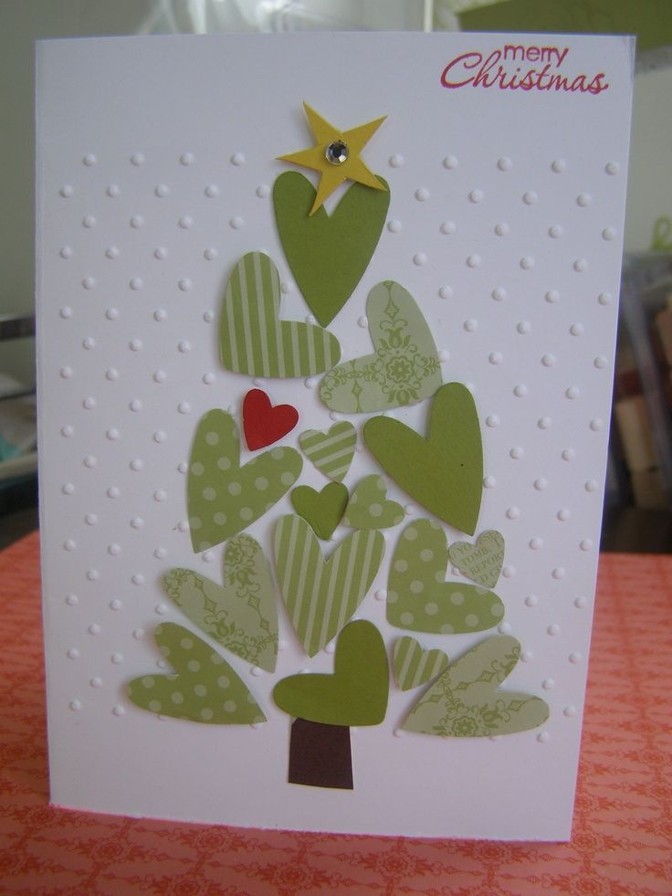 stampin up heart punch cards | Repinned via Keri-Anne Hodder