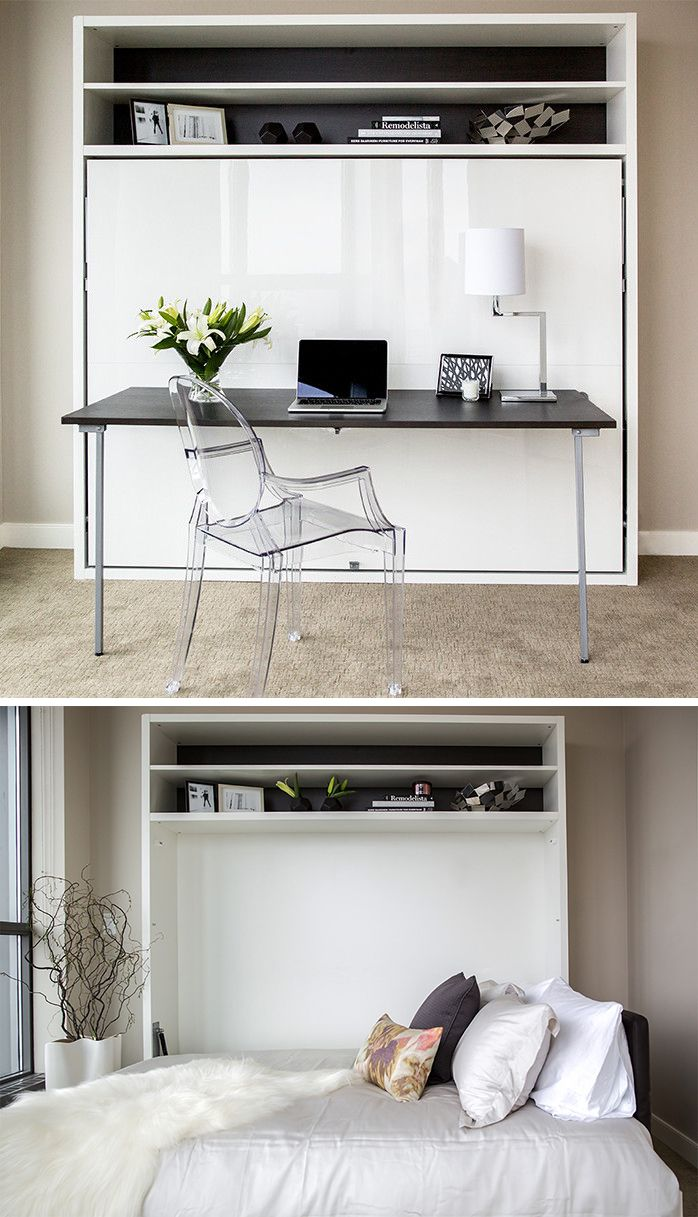 Best 25 Murphy Bed Desk Ideas On Pinterest Office With