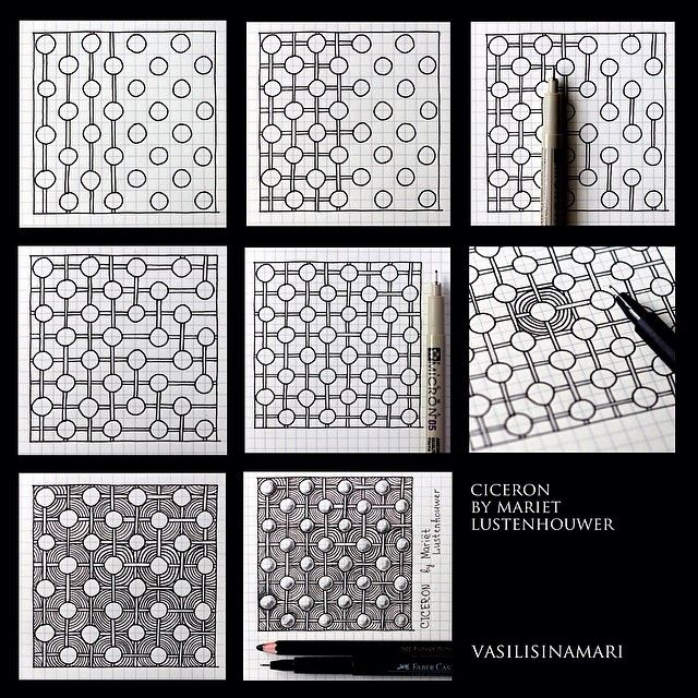 5342 best images about zentangle tutorials on pinterest for Doodle tutorial