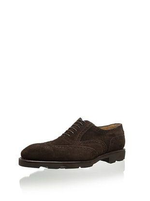 70% OFF Carlos Santos Men's Costa Dress Shoe (Dark Brown)