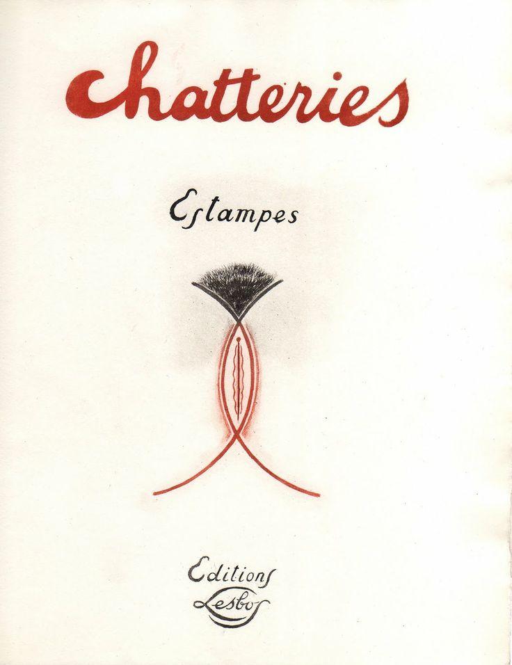le bibliomane moderne: Chatteries. Estampes. Un curieux curiosa ...