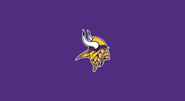 Minnesota Vikings 8' Pool Table Cloth
