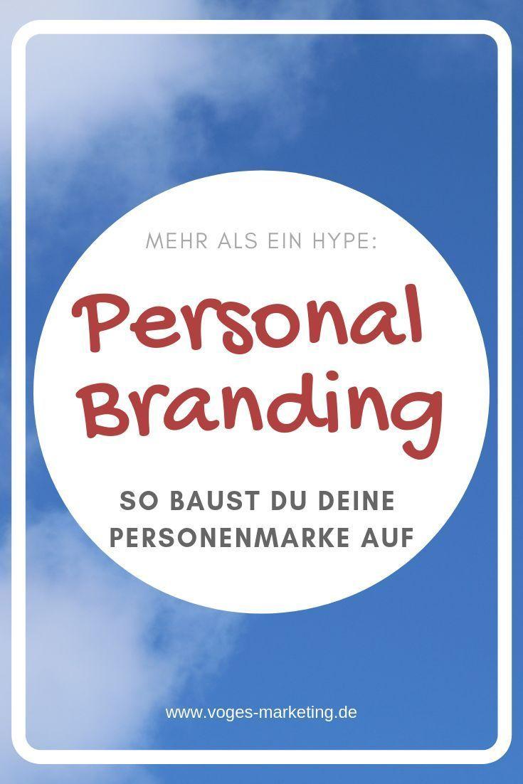 Personal Branding Mehr Als Ein Hype Personal Branding