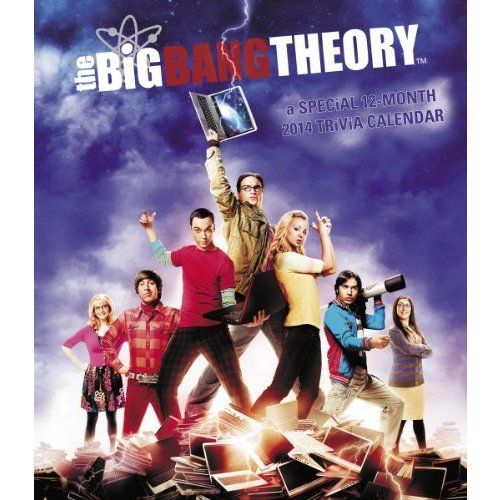 2014 The Big Bang Theory Poster Wall Calendar ($15.29)