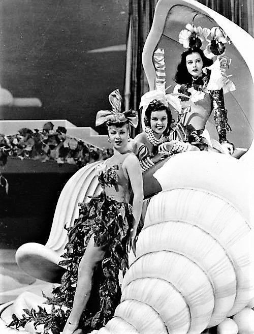 L for legends: Lana Turner, Judy Garland & Hedy Lamarr