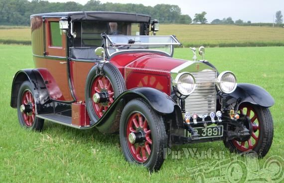 Rolls-Royce 20hp open drive Brougham 1927