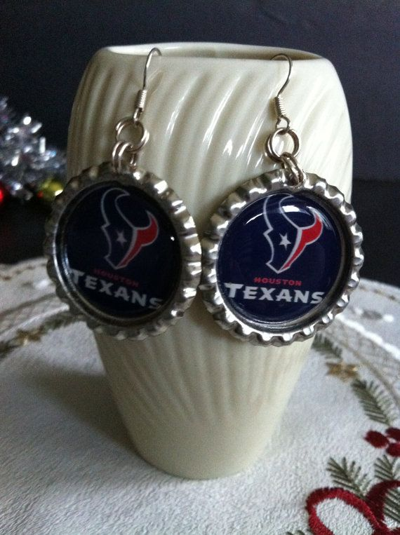 Check out this item in my Etsy shop https://www.etsy.com/listing/207064347/houston-texans-yeti-earrings-houston