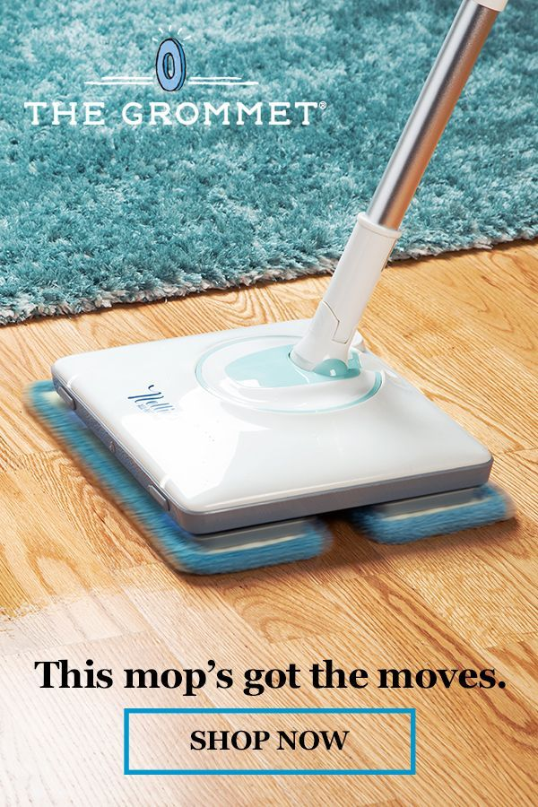 A Better Way To Clean Up This Cordless Electric Mop Has A Fast