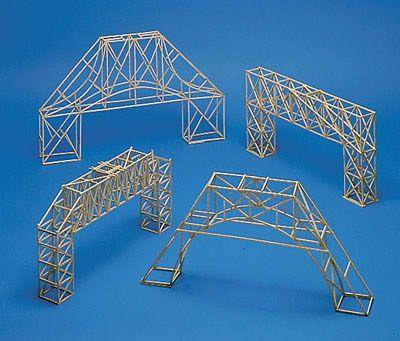 Very Well Done Bridge Truss Models Balsa Wood Bridge