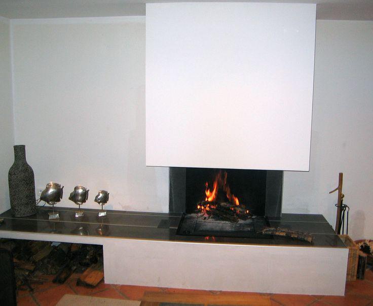 les 25 meilleures id es de la cat gorie chemin e traditionnelle sur pinterest manteau de. Black Bedroom Furniture Sets. Home Design Ideas