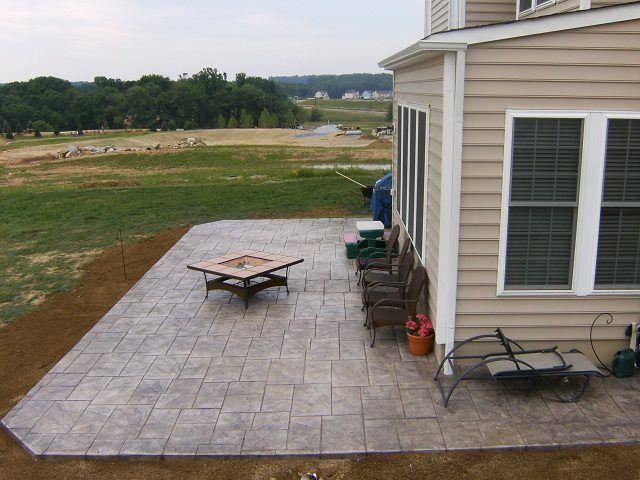 The 25  best ideas about terrasse beton imprimé on pinterest ...