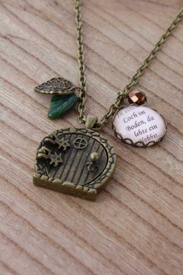 """Ketten lang - """"Der kleine Hobbit"""" Kette Herr der Ri... - ein Designerstück von LadyMarie bei DaWanda"""
