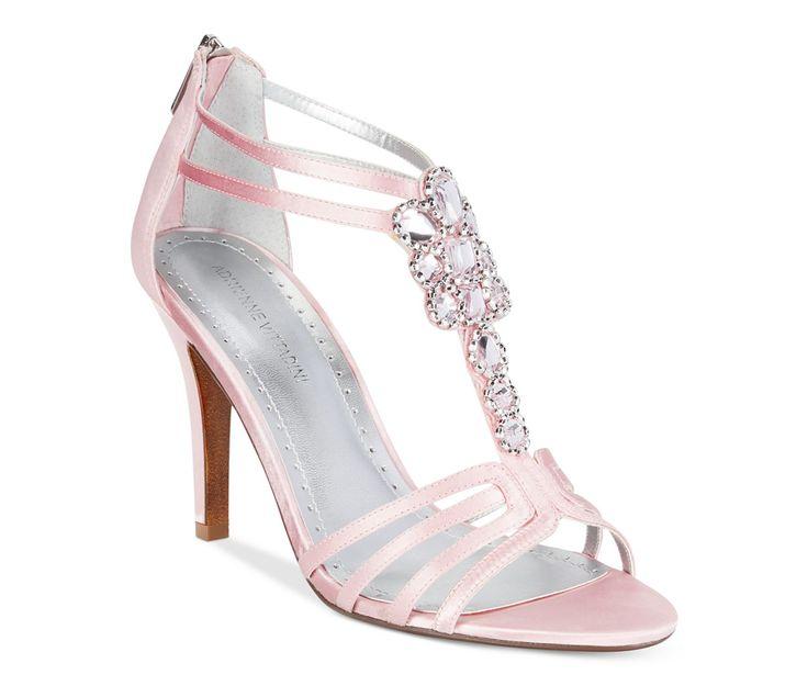 soft pink wedding shoes adrienne vittadini