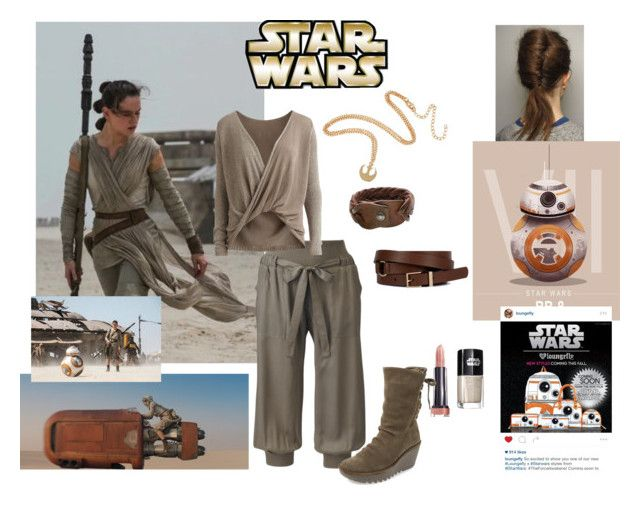 """""""Star Wars the force awakens- Rey"""" by misstiffiniemae on Polyvore featuring Object Collectors Item, HTC, Episode and Fly LONDON"""