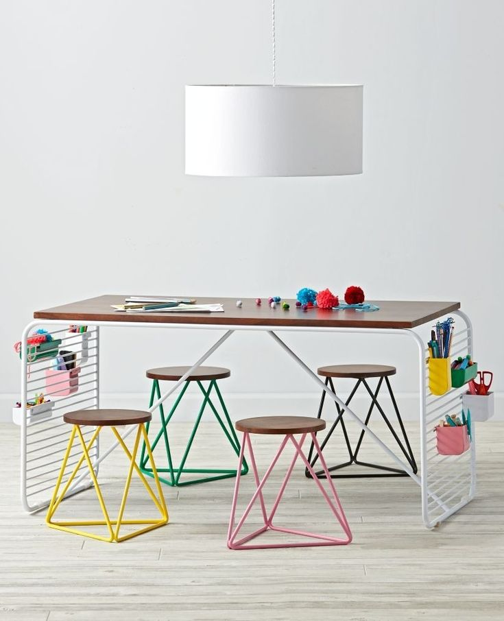 Shop Linear Play Table.  This modern play table is definitely top of the line.  Designed exclusively by Eric Trine, the linear design gives it a sleek, modern look that pairs perfectly with any décor.