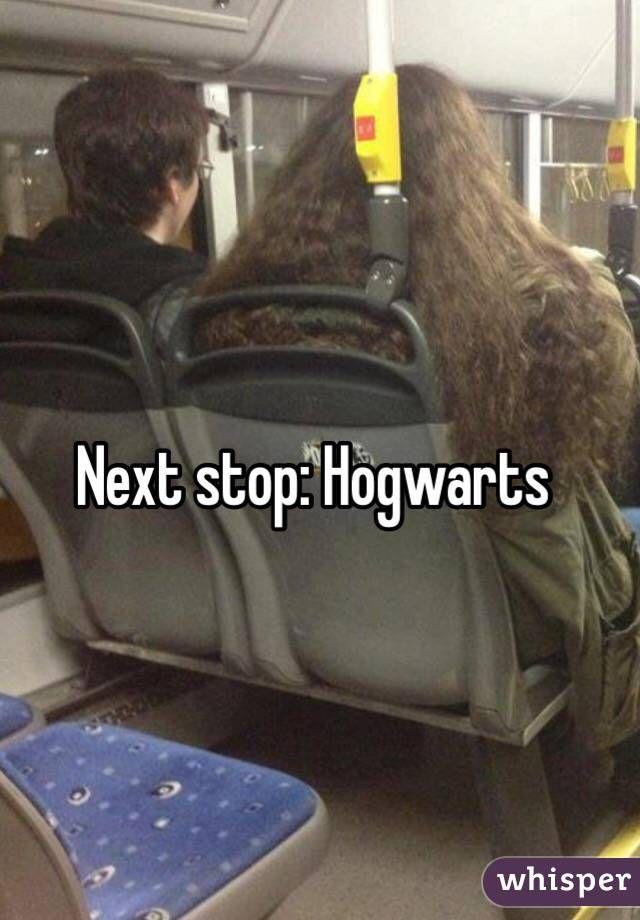 Next stop: Hogwarts.