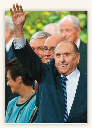 President Thomas S. Monson - President of the Church of Jesus Christ of Latter-day Saints