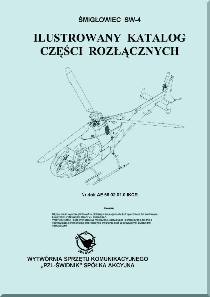 Aircraft manuals blueprints
