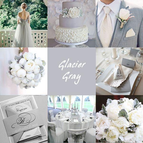 Matrimonio Grigio Ghiaccio - Glacier Gray #Wedding