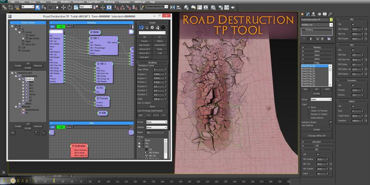 Road Destruction TP tool