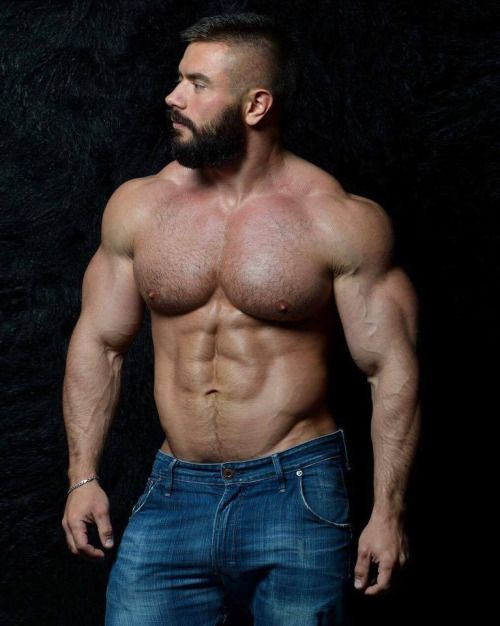 gay hunk guy