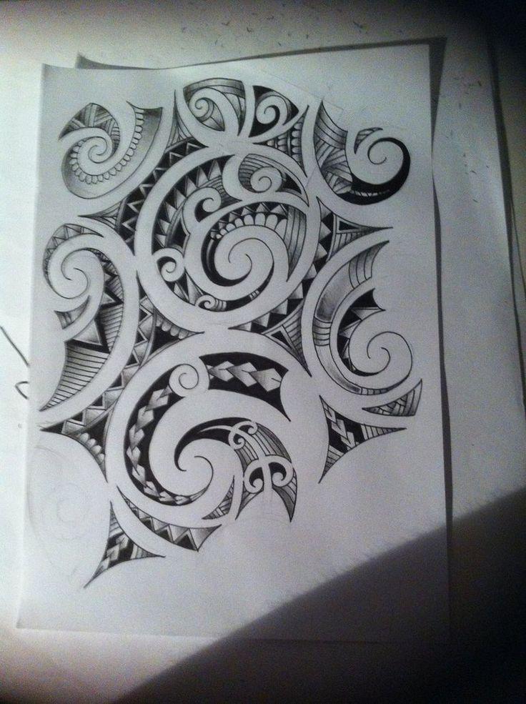 Maori Style Tattoo Designs: Maori Tattoo Design By Tattoosuzette