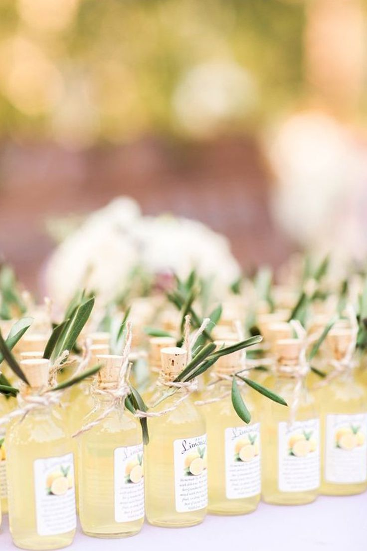 Wedding Ideas By Colour: Lemon Yellow Wedding Ideas – Favours | CHWV