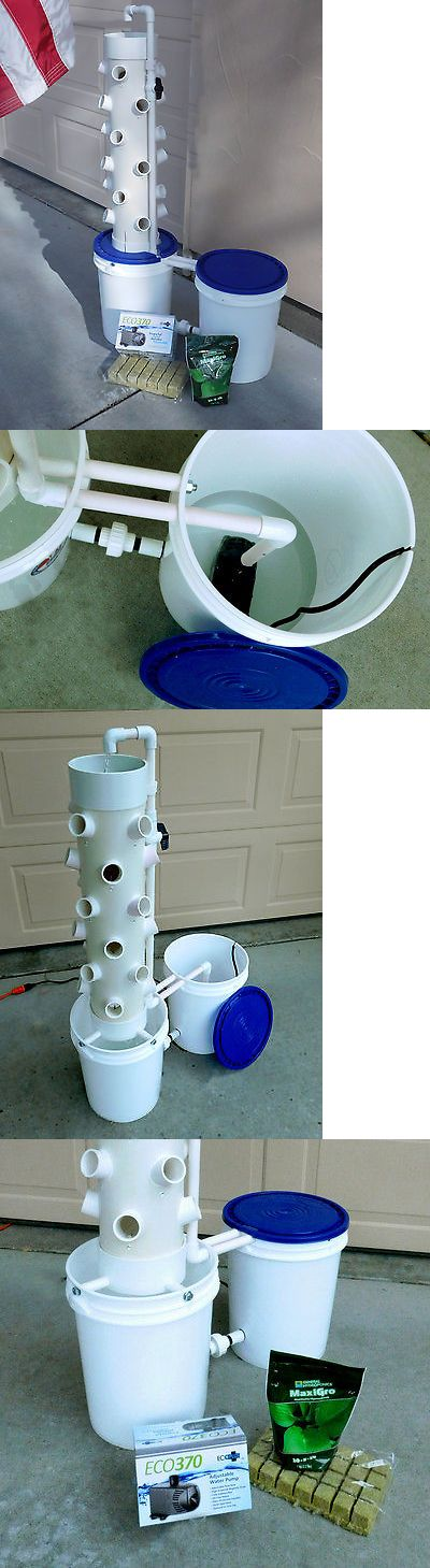 Other Home and Garden 181076: Hydroponic Fun Tower Plus With 24 Grow Pods And Two 5 Gal Gallon Pails. -> BUY IT NOW ONLY: $237 on eBay!