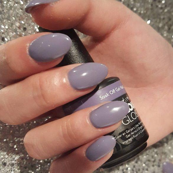 Artistic Colour Gloss Intuition Available At Louella Belle #ArtisticNailDesign #ArtisticColourGloss #Purple #PurpleNails #GelPolish #LouellaBelle