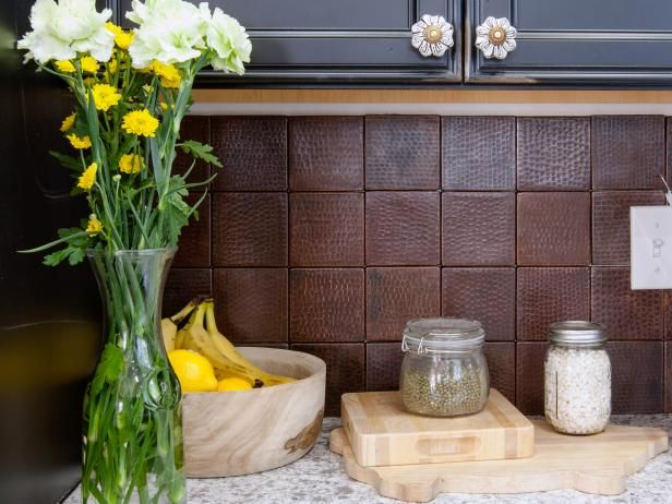 Get info and ideas on unique kitchen backsplashes, and get ready to install an eye-catching backsplash in your home.