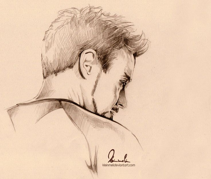 Robert Downey Jr By kleinmeli   I have been drawing this guy quite a bit, huh? XD