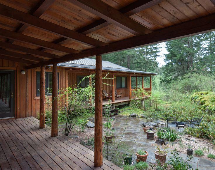 Orcas Island House - Fine Homebuilding | Modern Cabin