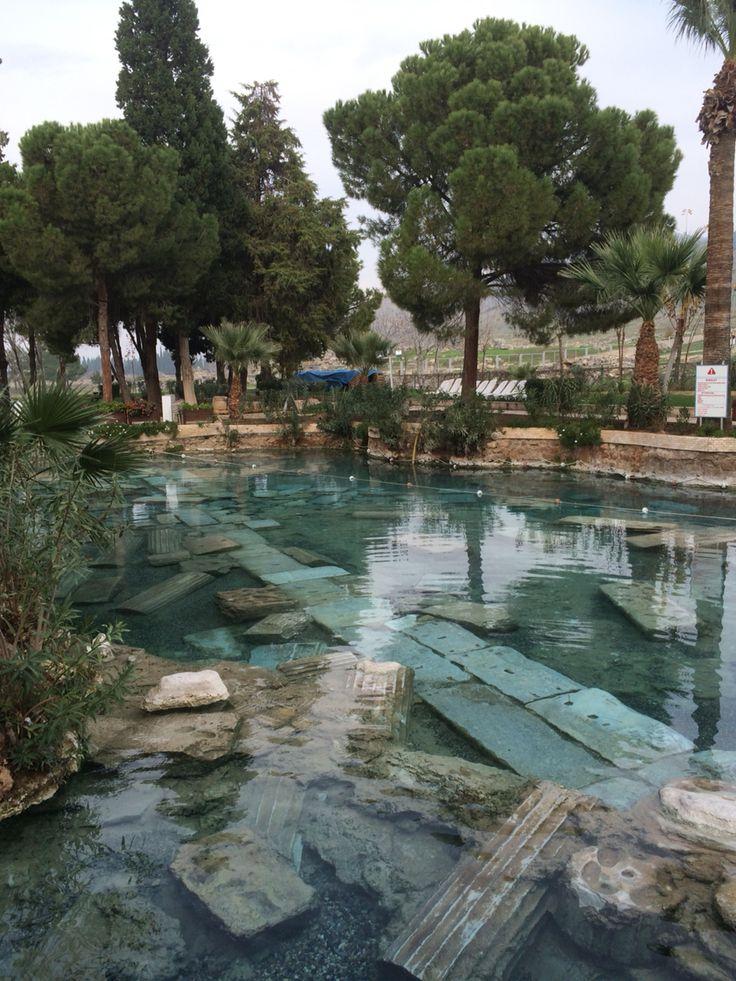 Pamukkale Hierapolis Ancient Pool Turkey
