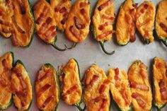 Always Order Dessert: Jalapeño Poppers with Bacon (Low Carb Recipe) This doesnt say how many carbs but i'd count it as 1 per popper. #lowcarb #atkins #induction