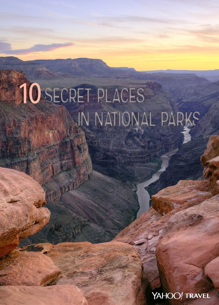 Here are 10 scenic spots you can have all to yourself inside the country's most-visited national parks.