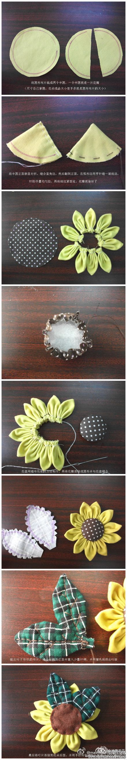 More little flowers for hair clips. ~Ariel