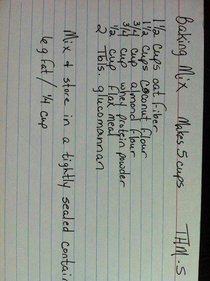 Baking Mix Recipe courtesy of Jeff N Anna Bentley