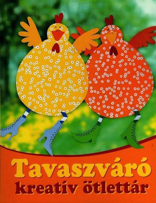 Пасхальные поделки (курочки, кролики, яйца, цветы). Easter diy