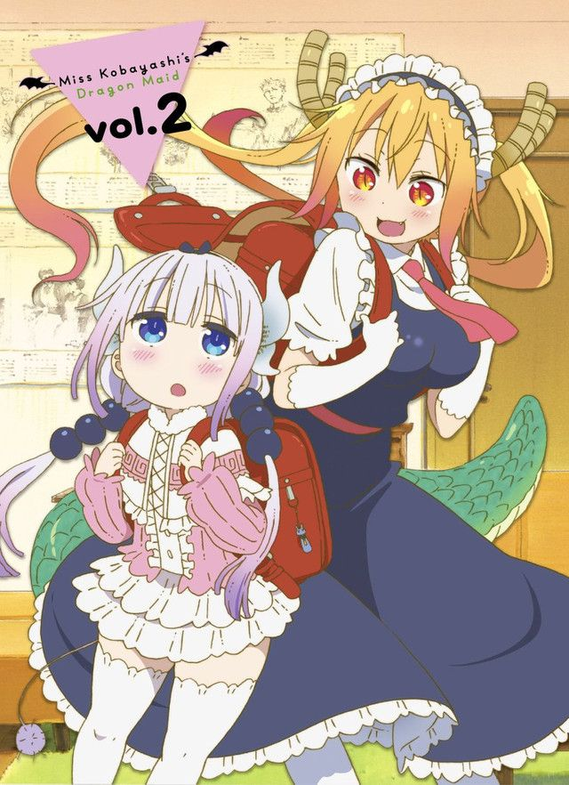 "Sugoi! ""Miss Kobayashi's Dragon Maid"" Ladies Become Anime Friends For Latest OVA Short"