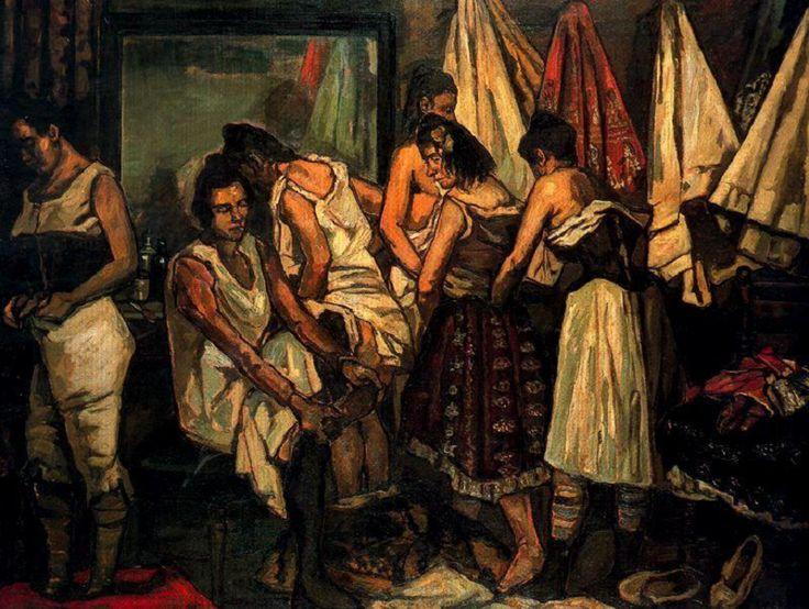 José Gutiérrez Solana -- Las coristas (1925)