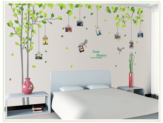 Memory Tree Photo Frame Wall Decals 82X108 by LuxuryWallDesign, $35.00
